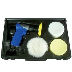 Astro Pneumatic Mini Air Polishing Kit with Pads & Case 3055