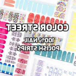 Color Street Nail Strips ~ 100% Nail Polish Strips ~ New Lis
