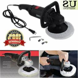 "New 7"" Electric 6 Variable Speed Car Polisher Buffer Waxer S"