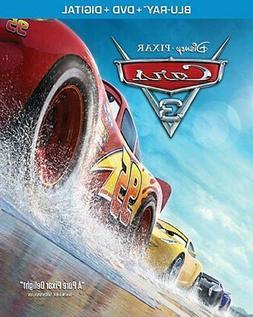 New: CARS 3 -  Blu-ray + DVD + Digital