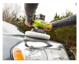 Orbital Buffer Cordless Car Polisher Powerful Motor 10 Inch