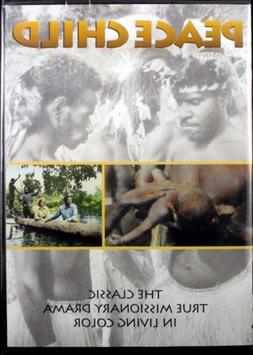 Peace Child NEW Christian Docmentary DVD The Classic True Mi