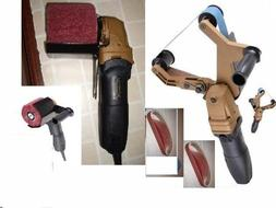 Pipe Tube angle grinder Polisher Hand Held Angle Burnished S