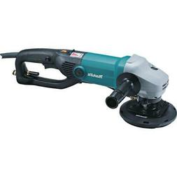 "Makita PK5011CX1 5"" Electronic Stone Polisher with Splash Gu"