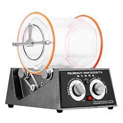 OrangeA Jewelry Polisher Tumbler 5Kg Capacity Mini Rotary Tu