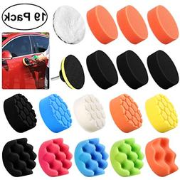 WINOMO 19Pcs Polishing Pads Sponge Buff Pads Set Kit with M1