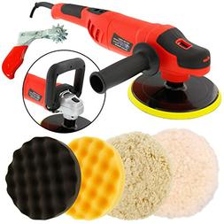 """TCP Global Powerful 7"""" Variable Speed Polisher with Digital"""