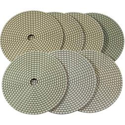 "Stadea PPD119N 6"" Dry Diamond Polishing Pads for Concrete Tr"