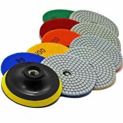 Stadea PPW176E Diamond Polishing Pads 4 Inch Wet Dry Set