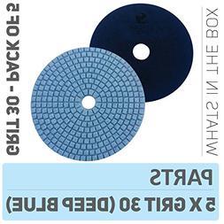 Stadea PPW239D Concrete Polishing Pads 5 Inch Grit 30 - Diam