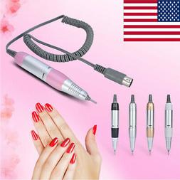 Professional Electric Nail Polisher File Drill Handpiece Man