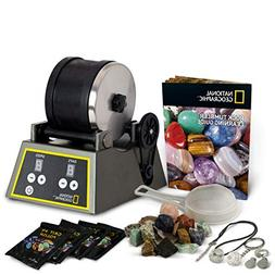 Professional Rock Tumbler by NATIONAL GEOGRAPHIC (Improved Q