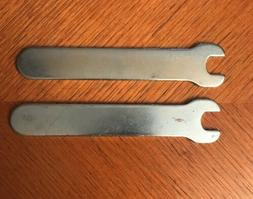 SET OF 2 PIECE PORTER CABLE WRENCH FOR RANDOM ORBIT SANDER/P