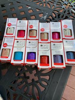 CND SHELLAC UV/LED GEL POLISH 0.25 OZ NEW IN BOX YOUR CHOICE