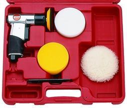 "Suntech Sm6004K 3"" Mini Polisher Kit, Silver"