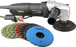 "DAMO Stone Polisher/Concrete Polisher 5"" Wet Polishing Kit f"
