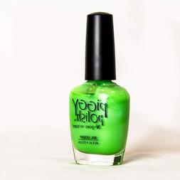 Piggy Polish Toenail Nail Lacquer Polish Grasshopper Bright