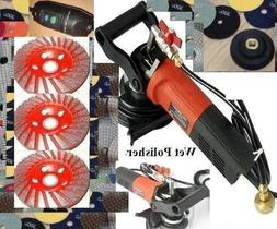 Variable Speed Polisher 4 Inch Granite Concrete Marble Wet P