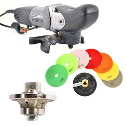 """Variable Speed Wet Grinder /Polisher 3/8"""" Diamond Profile Wh"""