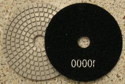 "4"" Wet Diamond Polishing Pad, Grit #10000x 2 Pads"