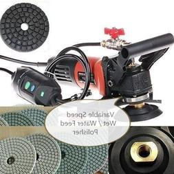 4-Inch to 5-Inch Variable Speed Wet Polisher and Grinder 4""