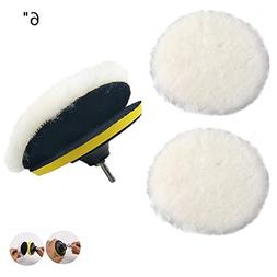 IROCH Wheel Polishing Pad and Polishing Buffer Woolen Polish