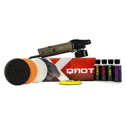 TORQ TORQX Random Orbital Polisher Kit 9 Items
